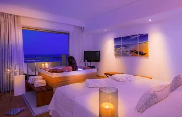 Presidential Suite Sea View Master Bedroom