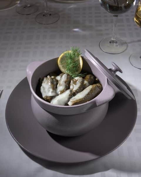 Fresh mediterran Restaurant Gericht