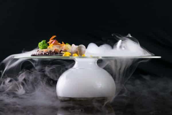 Noble Gourmet Restaurant Dish