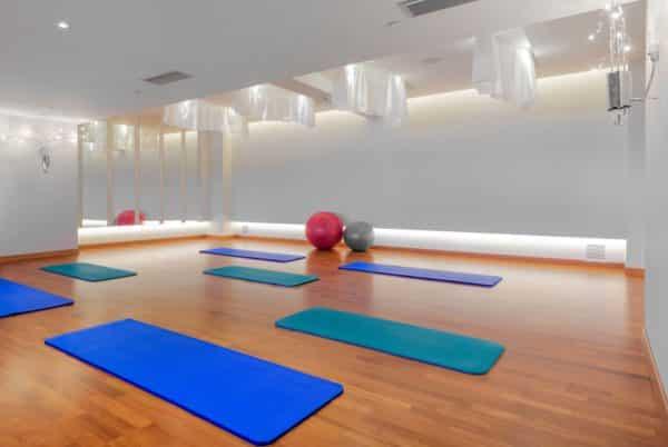 Yoga & Pilates Raum